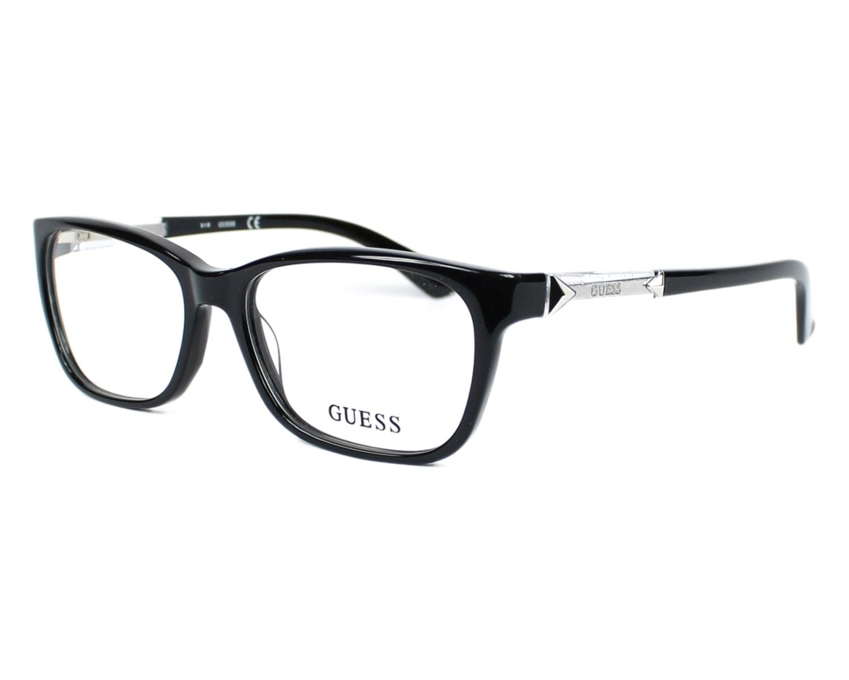 lunettes de vue guess gu 2561 001 noir. Black Bedroom Furniture Sets. Home Design Ideas