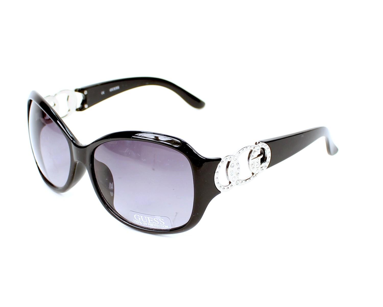 achetez des lunettes de soleil guess guf 249 noir pas cher. Black Bedroom Furniture Sets. Home Design Ideas