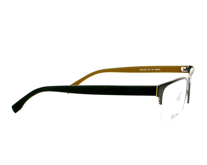 Hugo Boss Eyeglasses Boss 0739 Kby Green Visionet