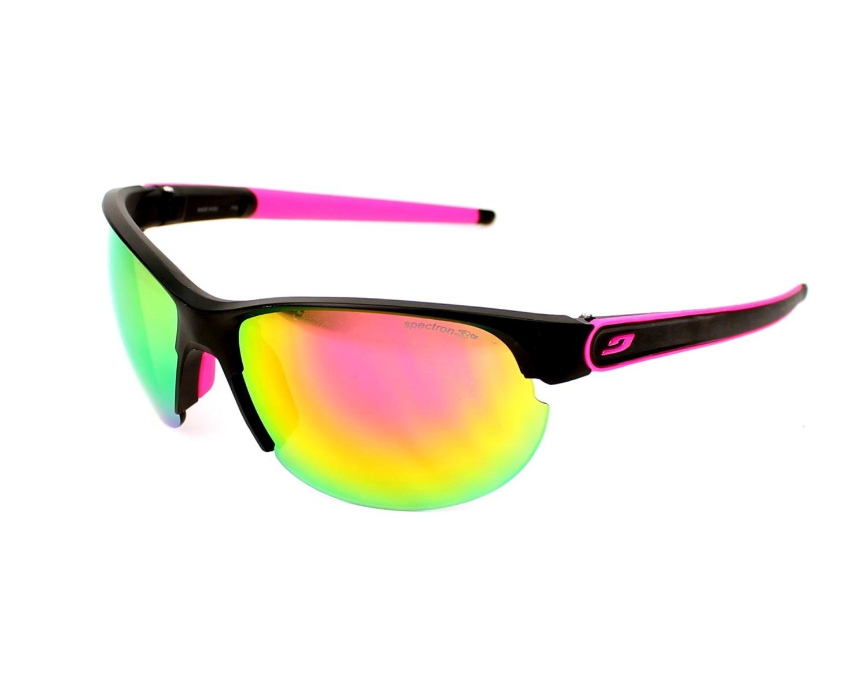 lunettes de soleil julbo j476 1114 noir avec des verres gris. Black Bedroom Furniture Sets. Home Design Ideas