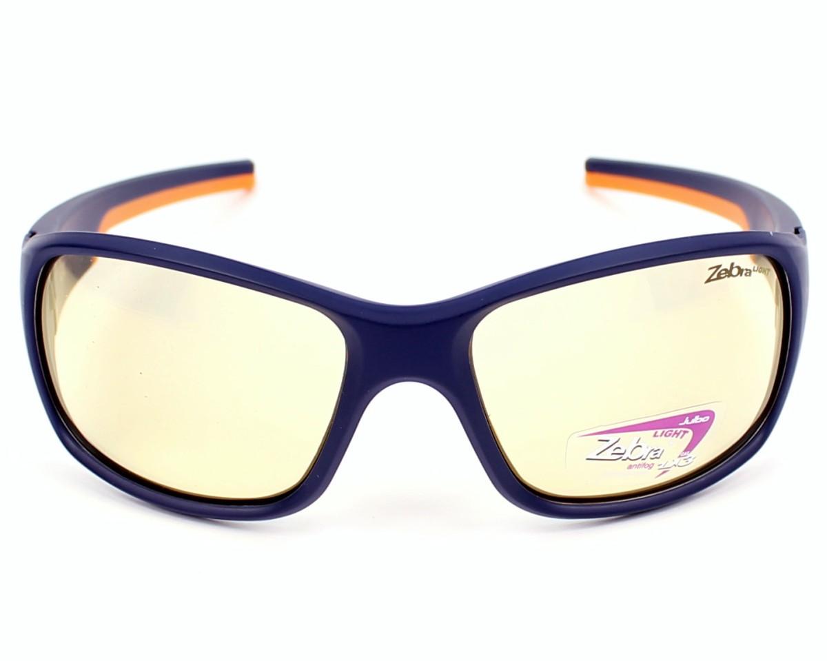 lunettes de soleil julbo j438 3112 bleu avec des verres marron. Black Bedroom Furniture Sets. Home Design Ideas