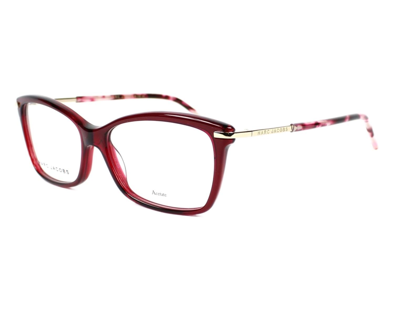 marc jacobs eyeglasses marc 63 uab red visionet. Black Bedroom Furniture Sets. Home Design Ideas