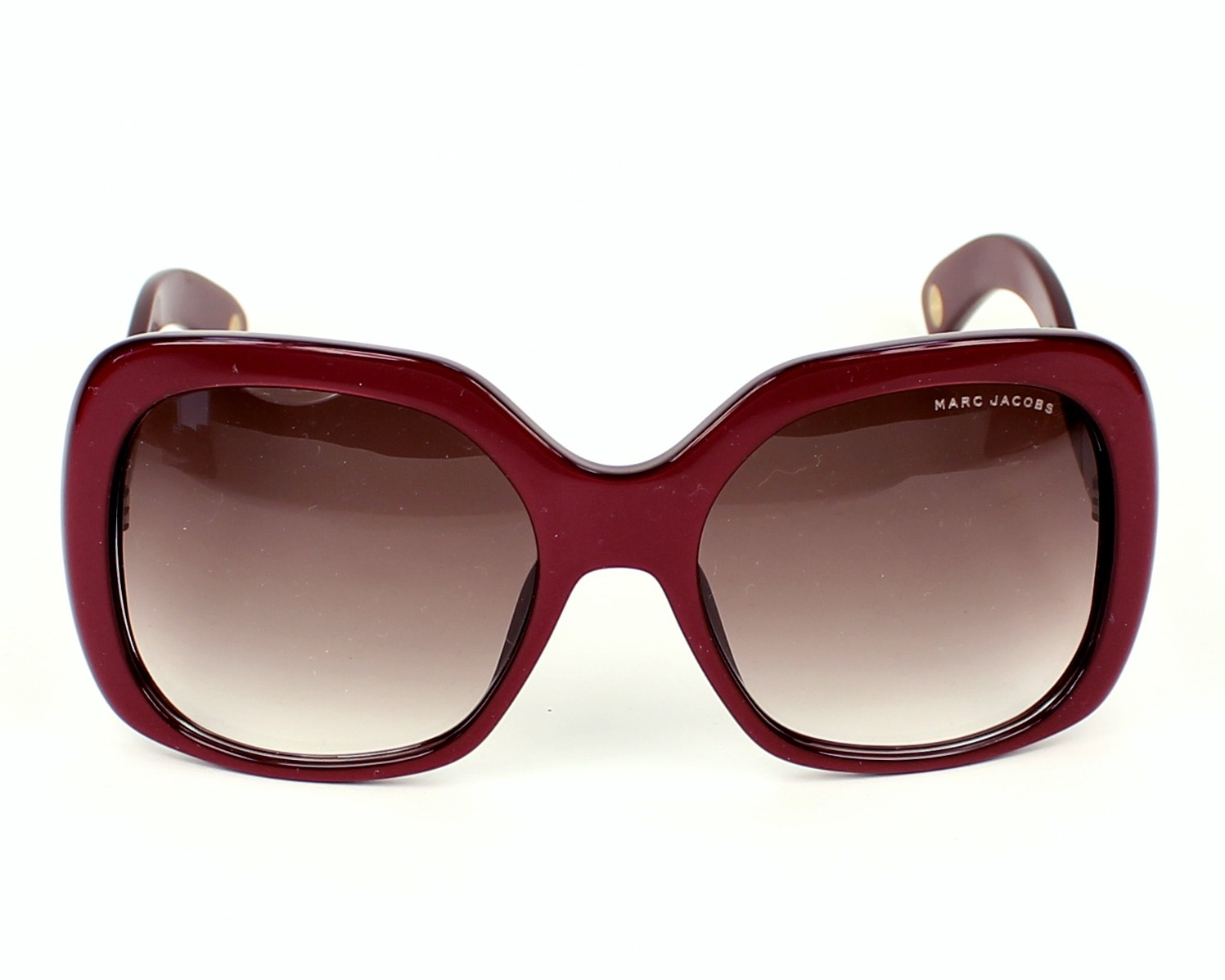 lunettes de soleil marc jacobs mj 428 s ybh fm bordeaux pas cher visionet. Black Bedroom Furniture Sets. Home Design Ideas