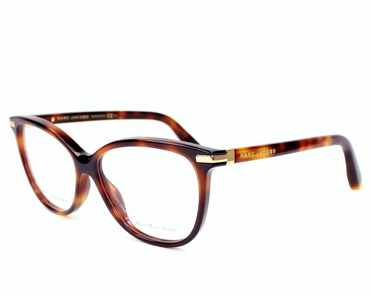 lunettes de vue marc jacobs mj 508 05l havane monture femmes. Black Bedroom Furniture Sets. Home Design Ideas