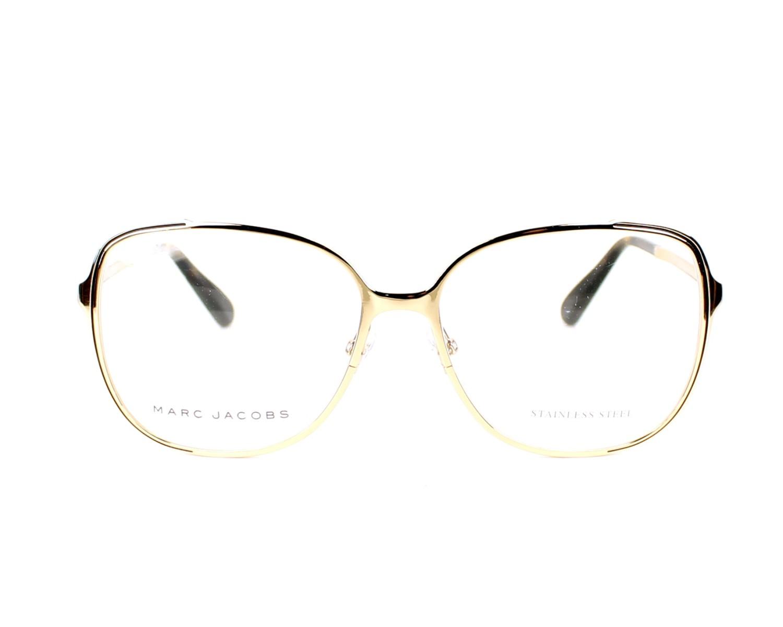 Lunettes de vue Marc Jacobs MJ-629 KS6 56-15 Or vue de face 21526c076ba8