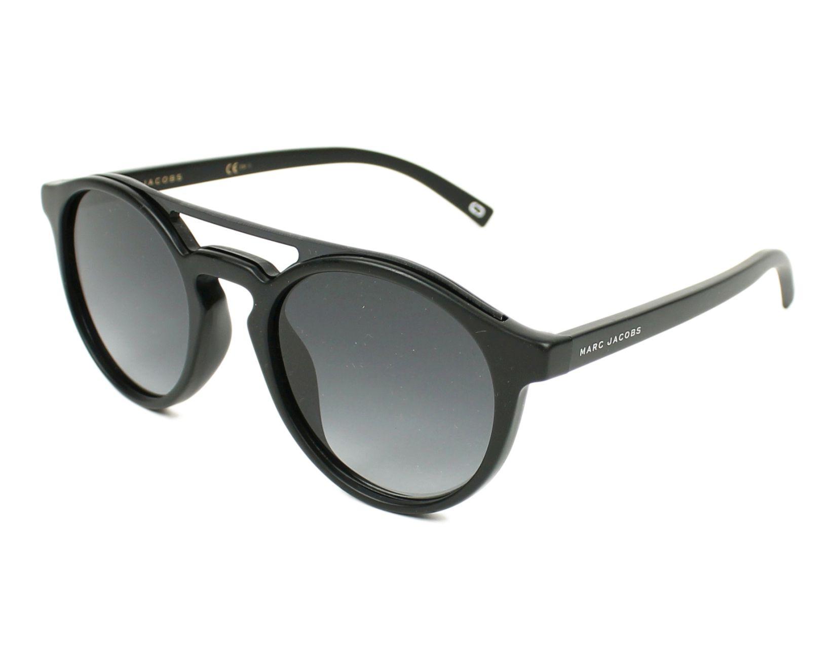 marc jacobs sunglasses marc 107 s d28 9o black visionet. Black Bedroom Furniture Sets. Home Design Ideas