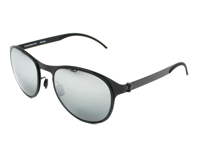 lunettes de soleil mercedes m 1045 a noir avec des verres gris pour hommes. Black Bedroom Furniture Sets. Home Design Ideas