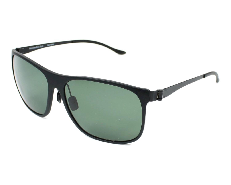 lunettes de soleil mercedes m 3016 a noir avec des verres gris vert pour hommes. Black Bedroom Furniture Sets. Home Design Ideas