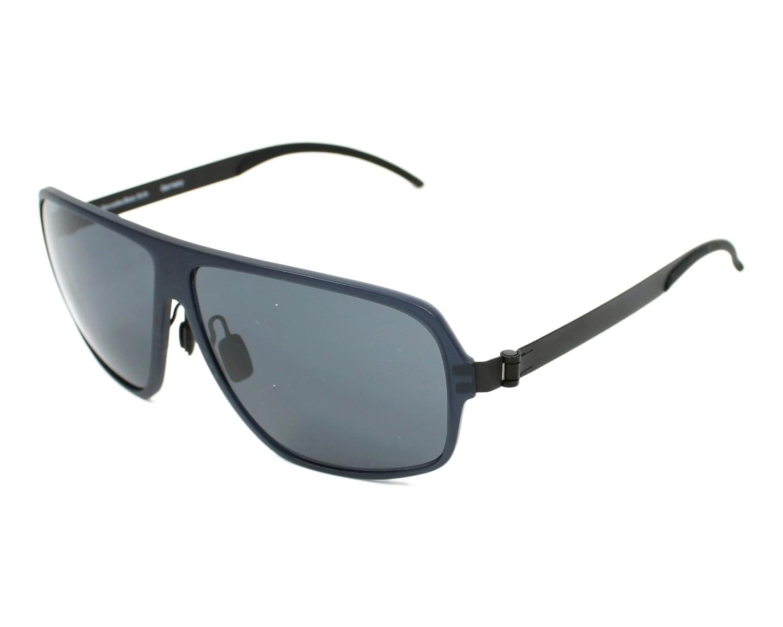 lunettes de soleil mercedes m 3018 b noir avec des verres gris pour hommes. Black Bedroom Furniture Sets. Home Design Ideas
