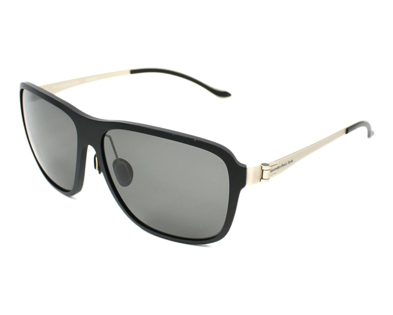 lunettes de soleil mercedes m 7003 a noir avec des verres gris. Black Bedroom Furniture Sets. Home Design Ideas