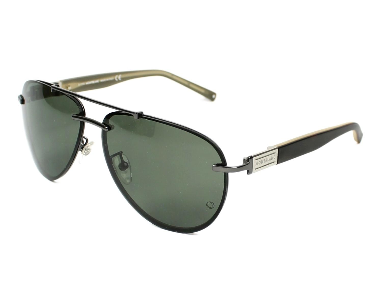 lunettes de soleil mont blanc mb404s 09n 62 visionet