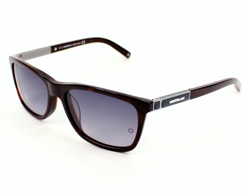 lunettes de soleil mont blanc mb461t 52b 58 visionet