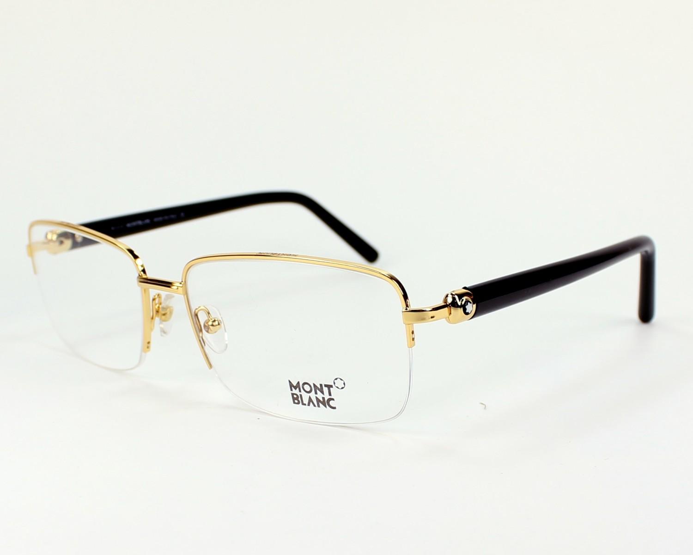 lunettes de vue mont blanc mb487 v 030 60 visionet