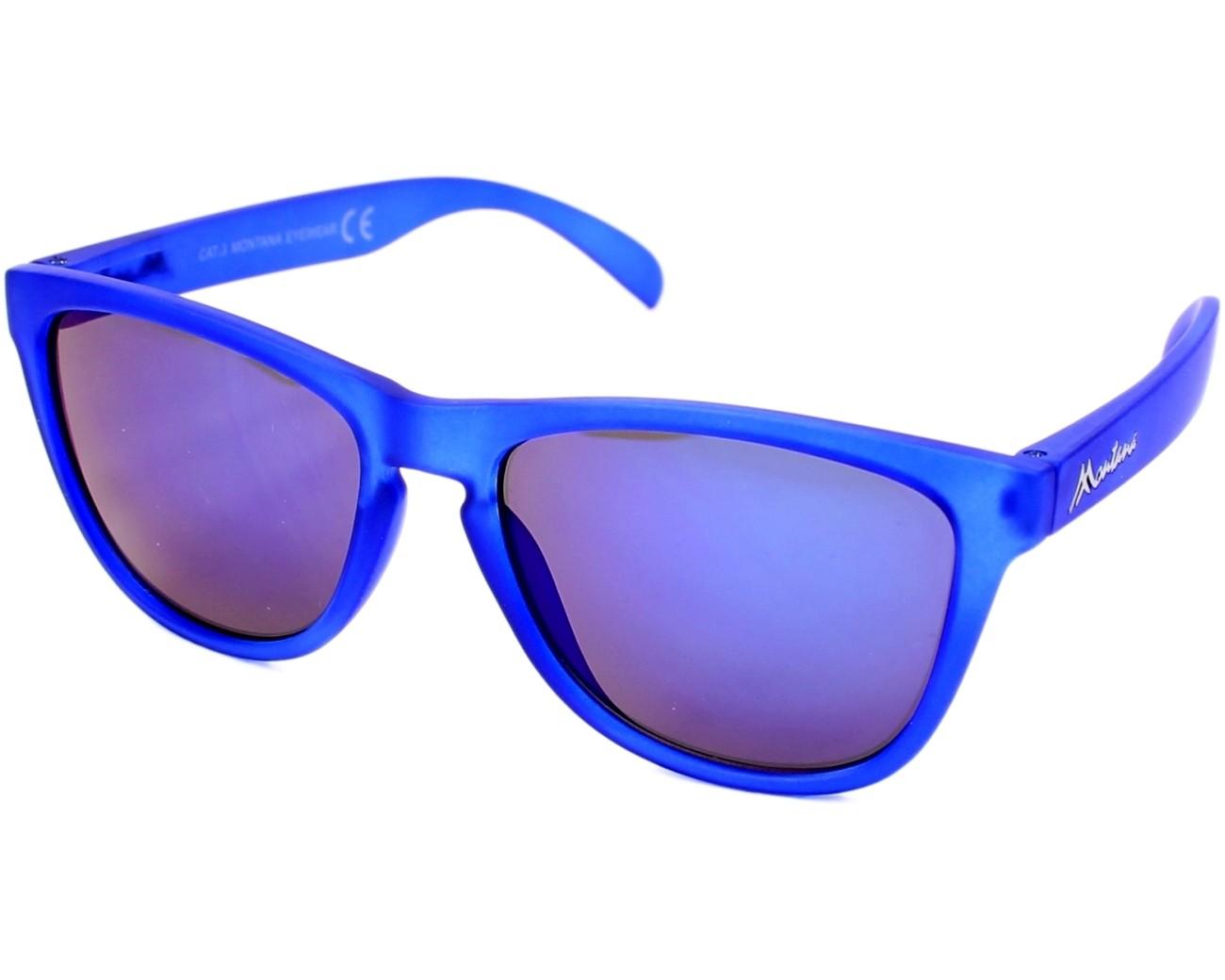 lunettes de soleil montana ms 31 b bleu avec des verres gris. Black Bedroom Furniture Sets. Home Design Ideas