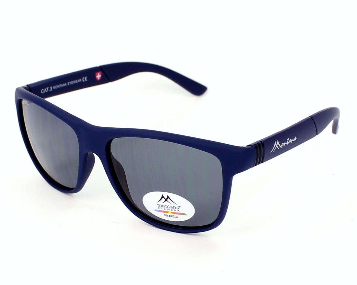 lunettes de soleil montana ms 312 a bleu avec des verres gris. Black Bedroom Furniture Sets. Home Design Ideas