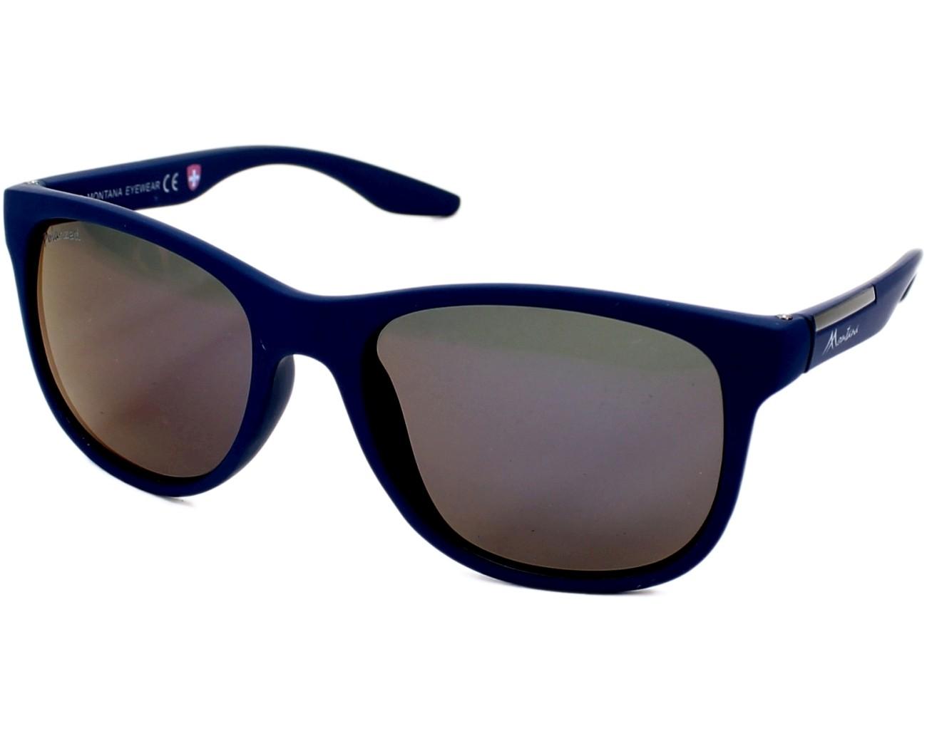 lunettes de soleil montana ms 313 e bleu avec des verres gris. Black Bedroom Furniture Sets. Home Design Ideas