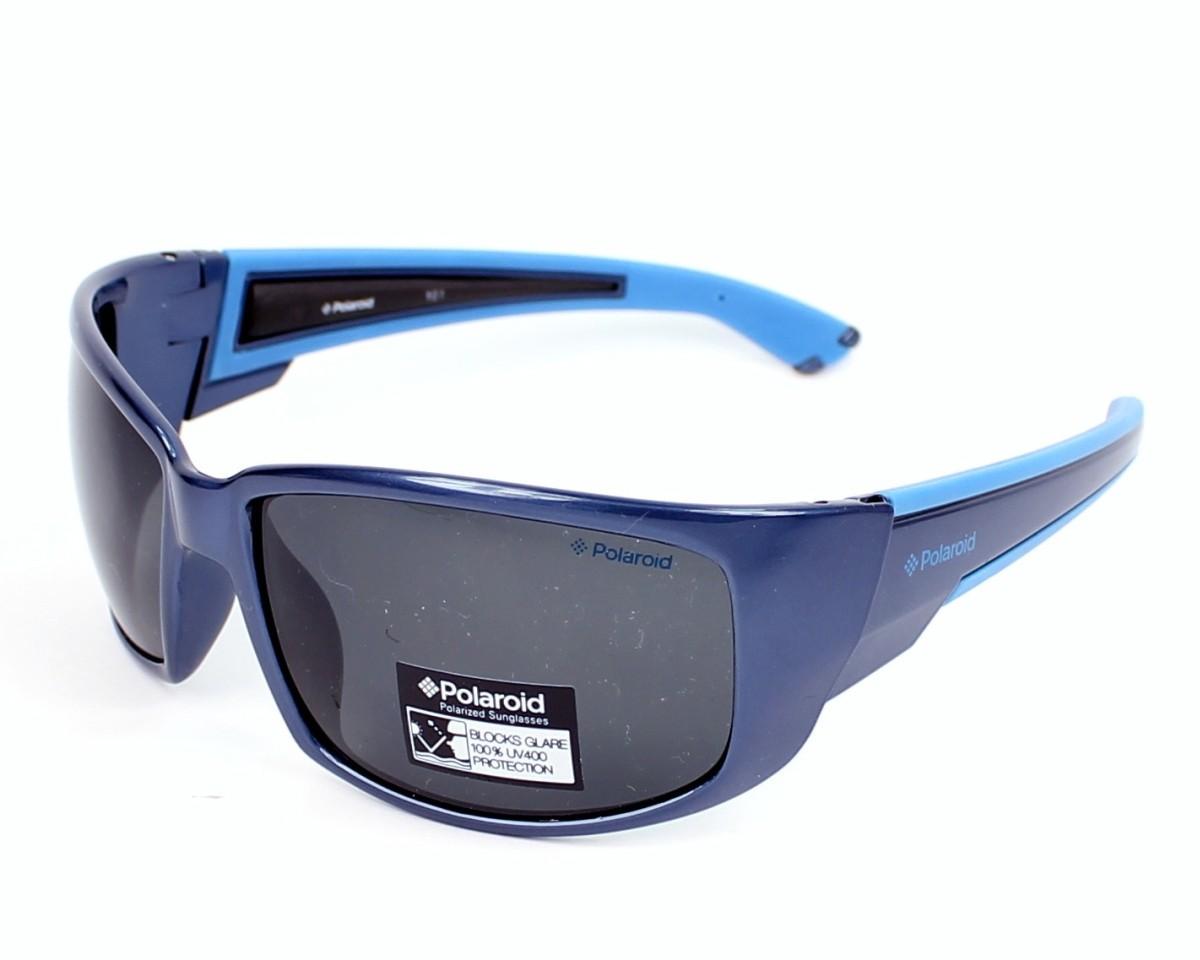 16eca1475ecf22 Lunettes de soleil Polaroid P-7222 B - Bleu Bleu ciel vue de profil
