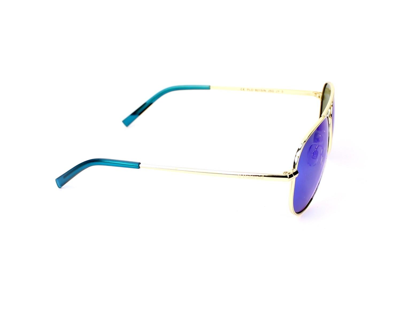 Lunettes Enfants Lunettes de soleil 8015//N J5G JY or bleu miroir Gradient