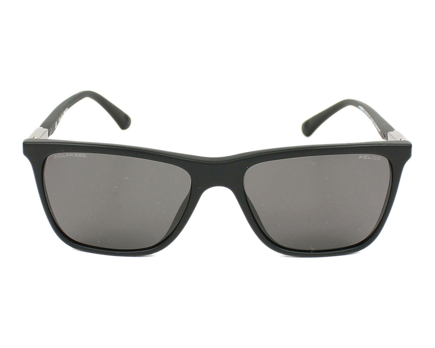 lunettes de soleil police spl 362 703p noir avec des verres gris pour hommes taille 55 pour 162. Black Bedroom Furniture Sets. Home Design Ideas