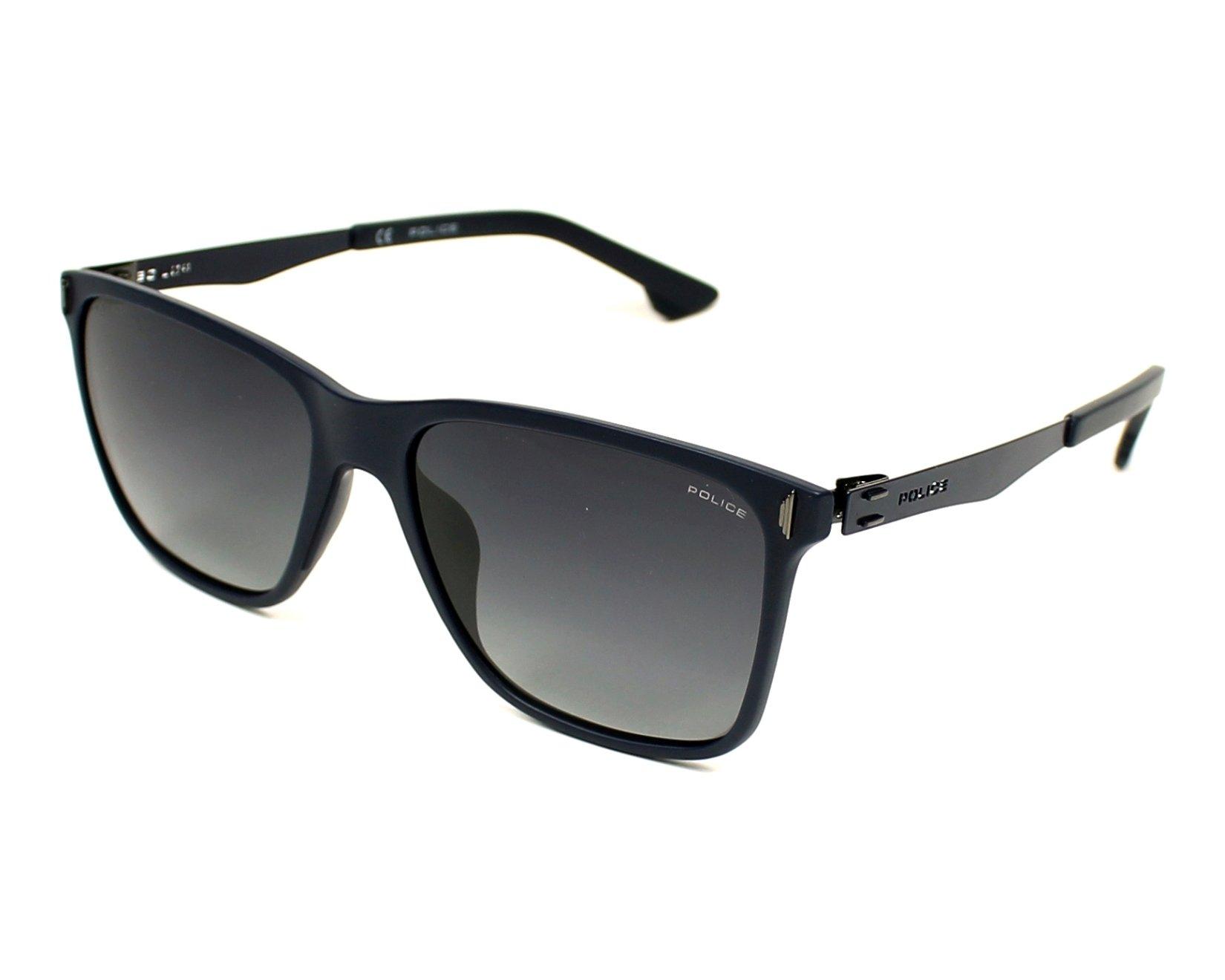 lunettes de soleil police spl 365 u43p bleu avec des verres gris pour mixte. Black Bedroom Furniture Sets. Home Design Ideas
