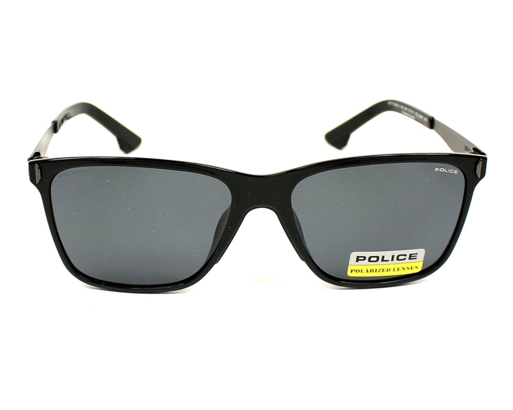 lunettes de soleil police spl 365 z42p noir avec des verres gris pour mixte. Black Bedroom Furniture Sets. Home Design Ideas