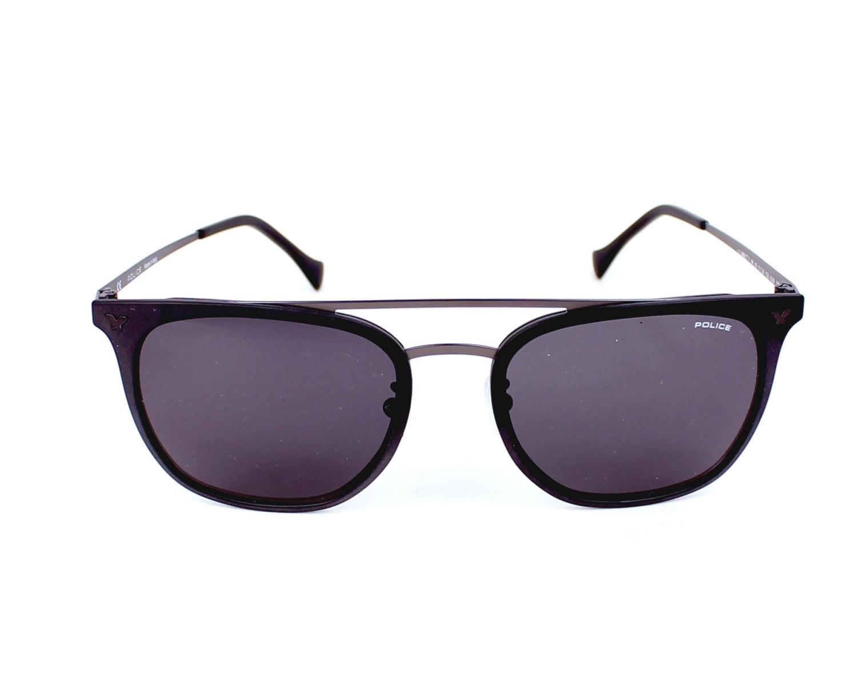 lunettes de soleil police spl 152 0u28 noir avec des verres gris pour hommes. Black Bedroom Furniture Sets. Home Design Ideas