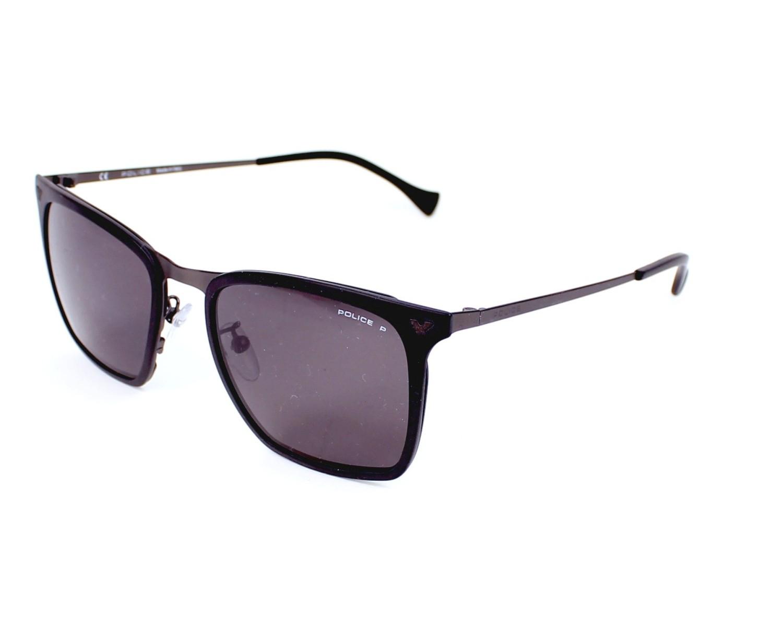 lunettes de soleil police spl 154 u28p noir avec des verres gris pour hommes. Black Bedroom Furniture Sets. Home Design Ideas