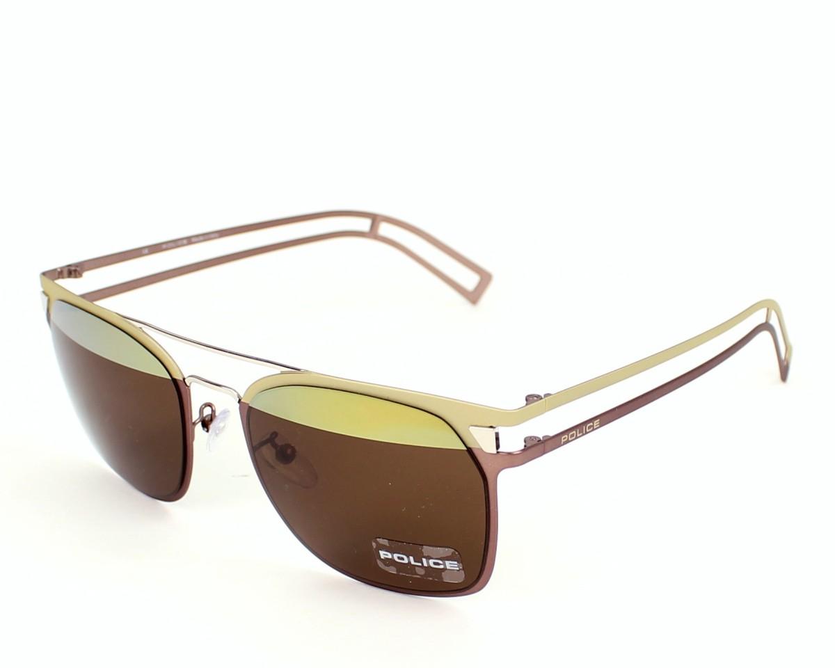lunettes de soleil police s 8958 sn6h rose dor pas cher visionet. Black Bedroom Furniture Sets. Home Design Ideas