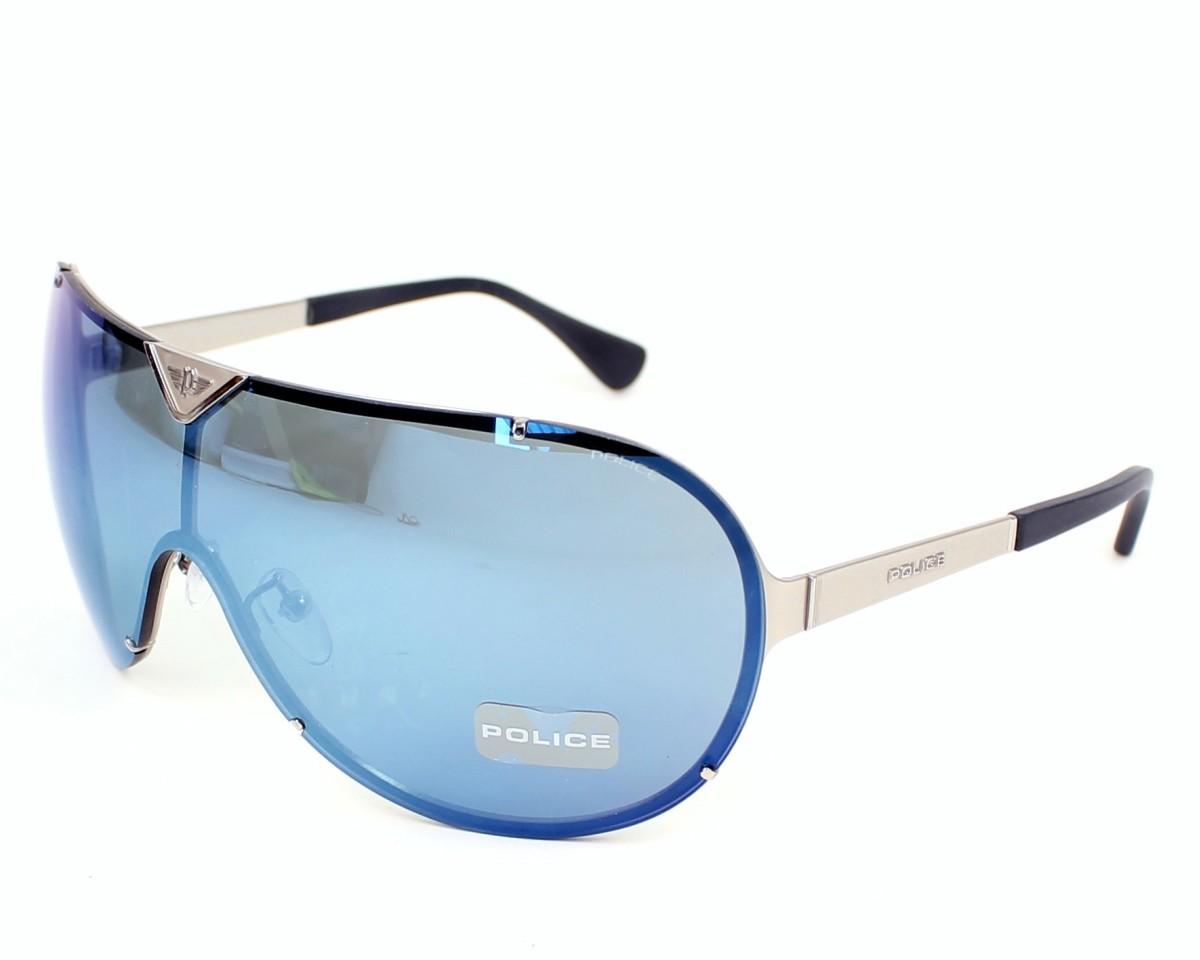 lunettes de soleil police s 8827 688x gris pas cher visionet. Black Bedroom Furniture Sets. Home Design Ideas