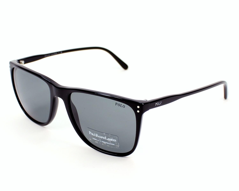 9a0eefb60d1e lunettes de soleil polo ralph lauren ph 4102 5001 87 noir avec des verres  gris pour hommes
