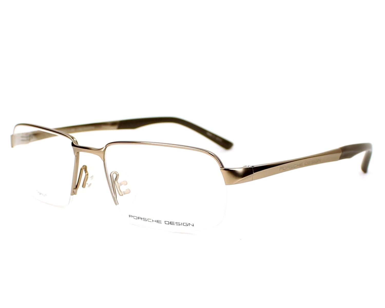 lunettes de vue porsche design p 8213 a or monture hommes. Black Bedroom Furniture Sets. Home Design Ideas