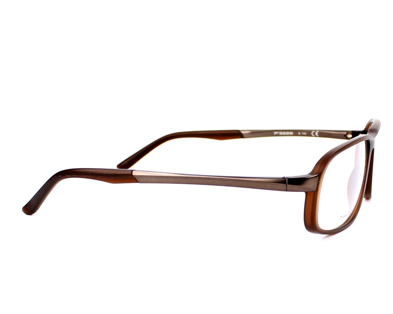 lunettes de vue porsche design p 8229 b marron monture hommes. Black Bedroom Furniture Sets. Home Design Ideas