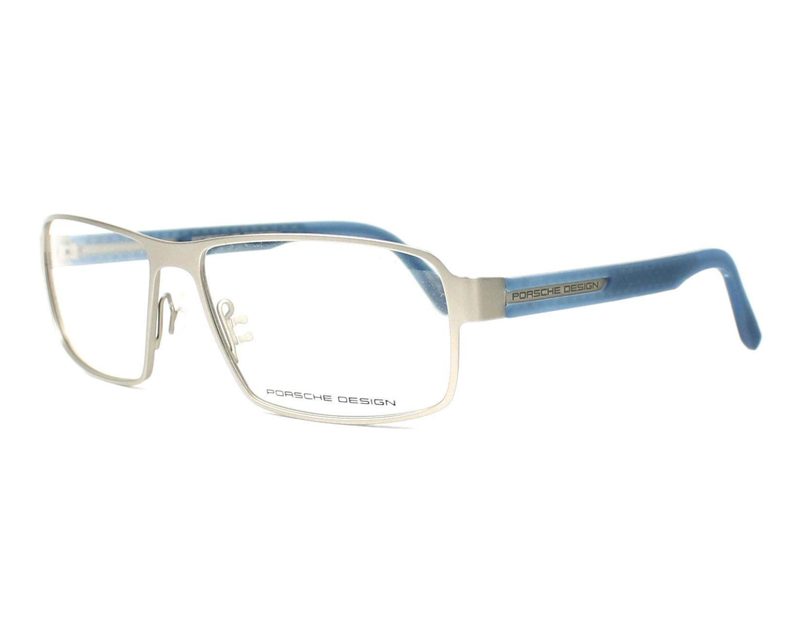 7cee8d7abc9b74 Lunettes de vue Porsche Design P-8231 D - Argent Bleu vue de profil