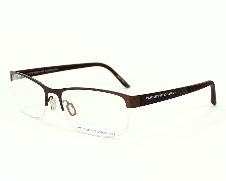 lunettes de vue porsche design p 8242 d marron avio monture hommes taille 54 pour 139 00. Black Bedroom Furniture Sets. Home Design Ideas