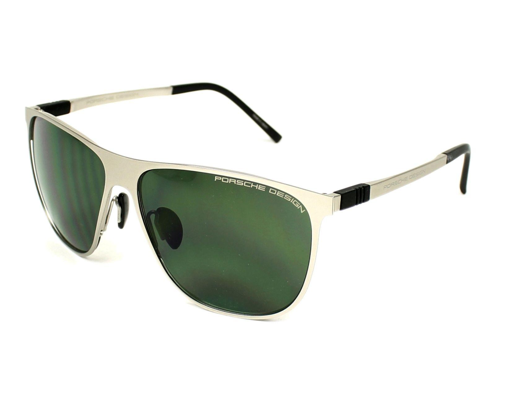 lunettes de soleil porsche design p 8609 c or avec des verres gris vert pour hommes. Black Bedroom Furniture Sets. Home Design Ideas