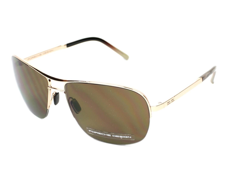 lunettes de soleil porsche design p 8545 c bronze avec des verres marron pour hommes. Black Bedroom Furniture Sets. Home Design Ideas