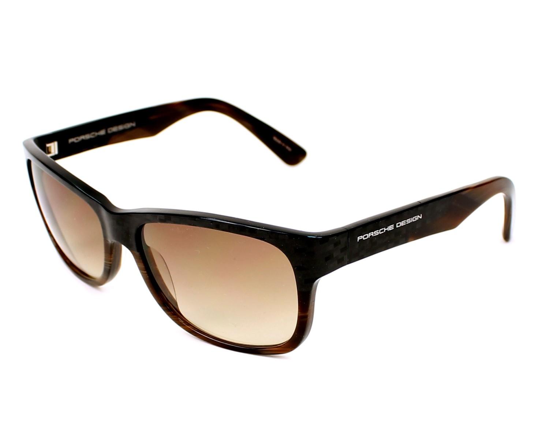 lunettes de soleil porsche design p 8546 b gris avec des verres marron pour mixte. Black Bedroom Furniture Sets. Home Design Ideas