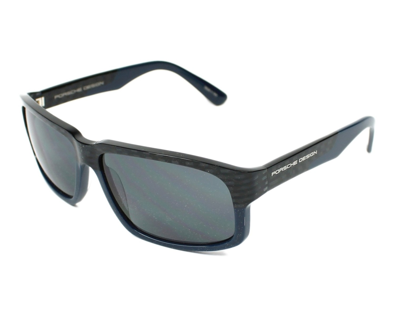lunettes de soleil porsche design p 8547 d carbonne avec des verres gris pour hommes taille 61. Black Bedroom Furniture Sets. Home Design Ideas