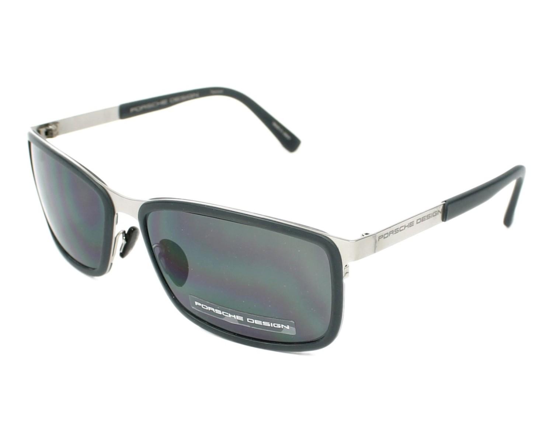 lunettes de soleil porsche design p 8552 b gris avec des verres gris pour hommes. Black Bedroom Furniture Sets. Home Design Ideas