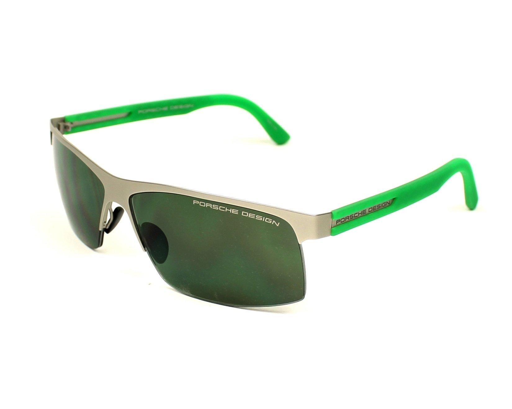 lunettes de soleil porsche design p 8561 e gris avec des verres gris pour hommes. Black Bedroom Furniture Sets. Home Design Ideas