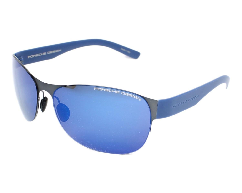 lunettes de soleil porsche design p 8581 c gris avec des verres gris pour hommes taille 64 pour. Black Bedroom Furniture Sets. Home Design Ideas