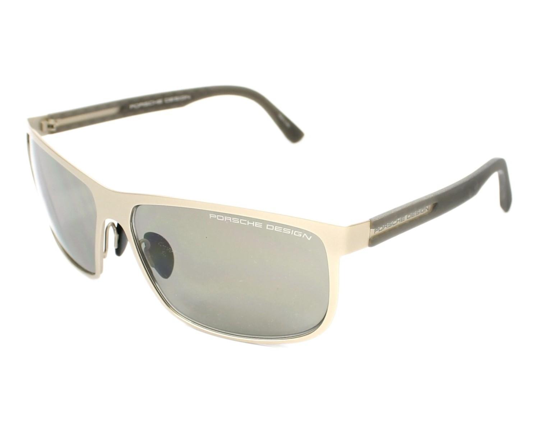 lunettes de soleil porsche design p 8583 c beige avec des verres marron pour hommes. Black Bedroom Furniture Sets. Home Design Ideas