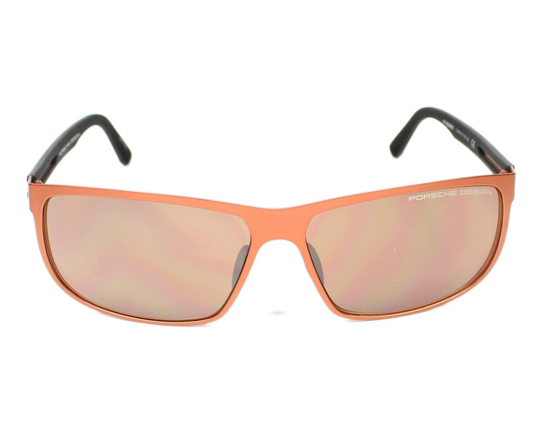 lunettes de soleil porsche design p 8583 e rouge brique visionet. Black Bedroom Furniture Sets. Home Design Ideas