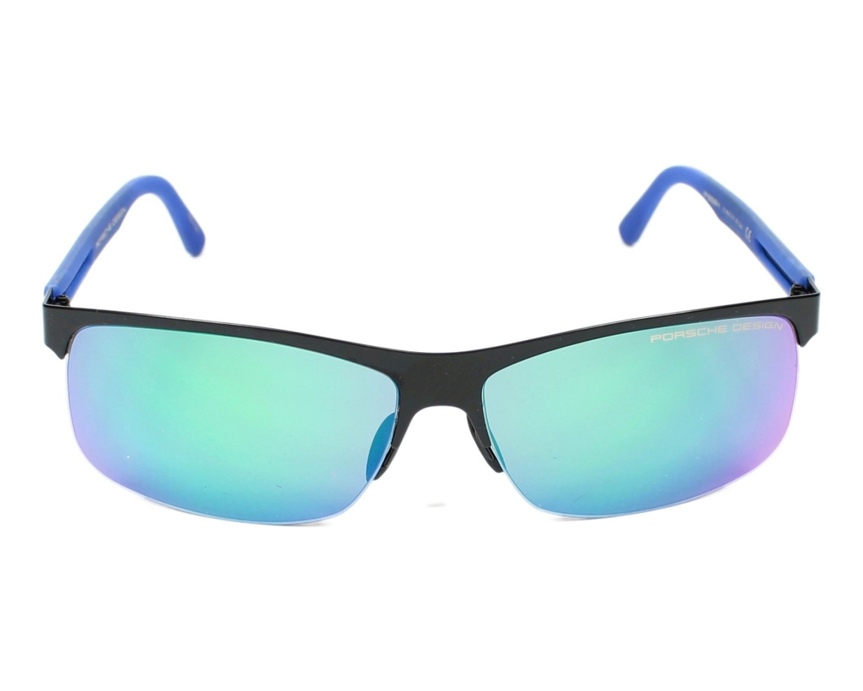 lunettes de soleil porsche design p 8584 e noir avec des verres marron. Black Bedroom Furniture Sets. Home Design Ideas