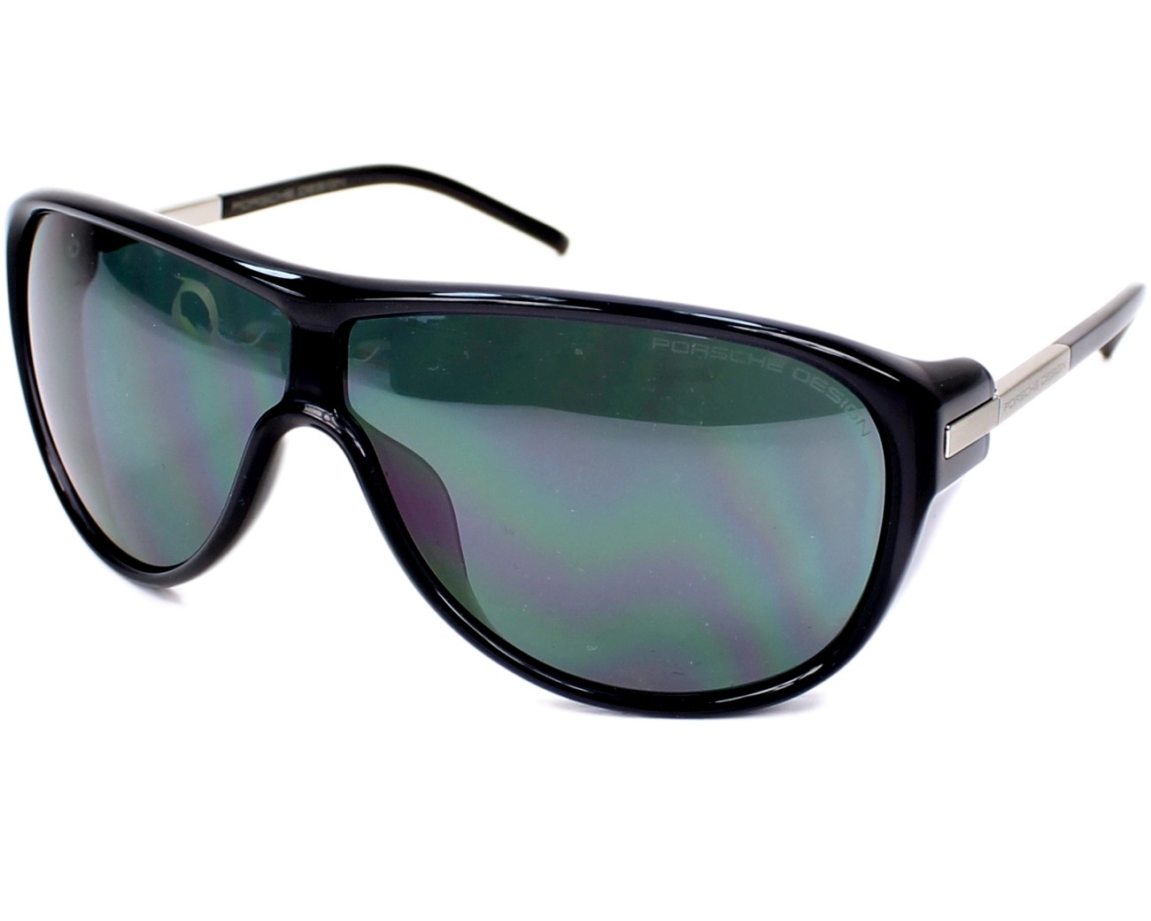 lunettes de soleil porsche design p 8598 a bleu denim visionet. Black Bedroom Furniture Sets. Home Design Ideas
