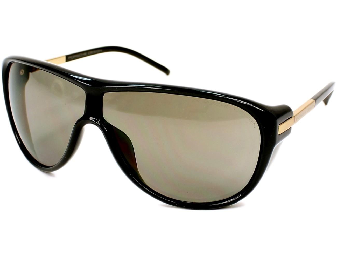 lunettes de soleil porsche design p 8598 c gris avec des verres gris pour hommes. Black Bedroom Furniture Sets. Home Design Ideas