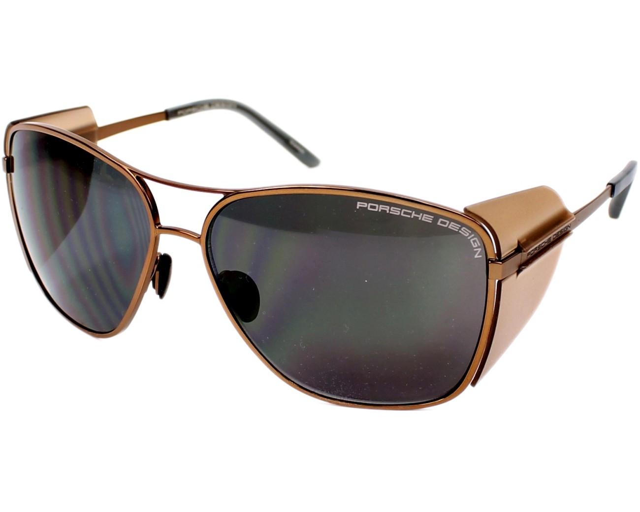 lunettes de soleil porsche design p 8600 d marron pas cher visionet. Black Bedroom Furniture Sets. Home Design Ideas