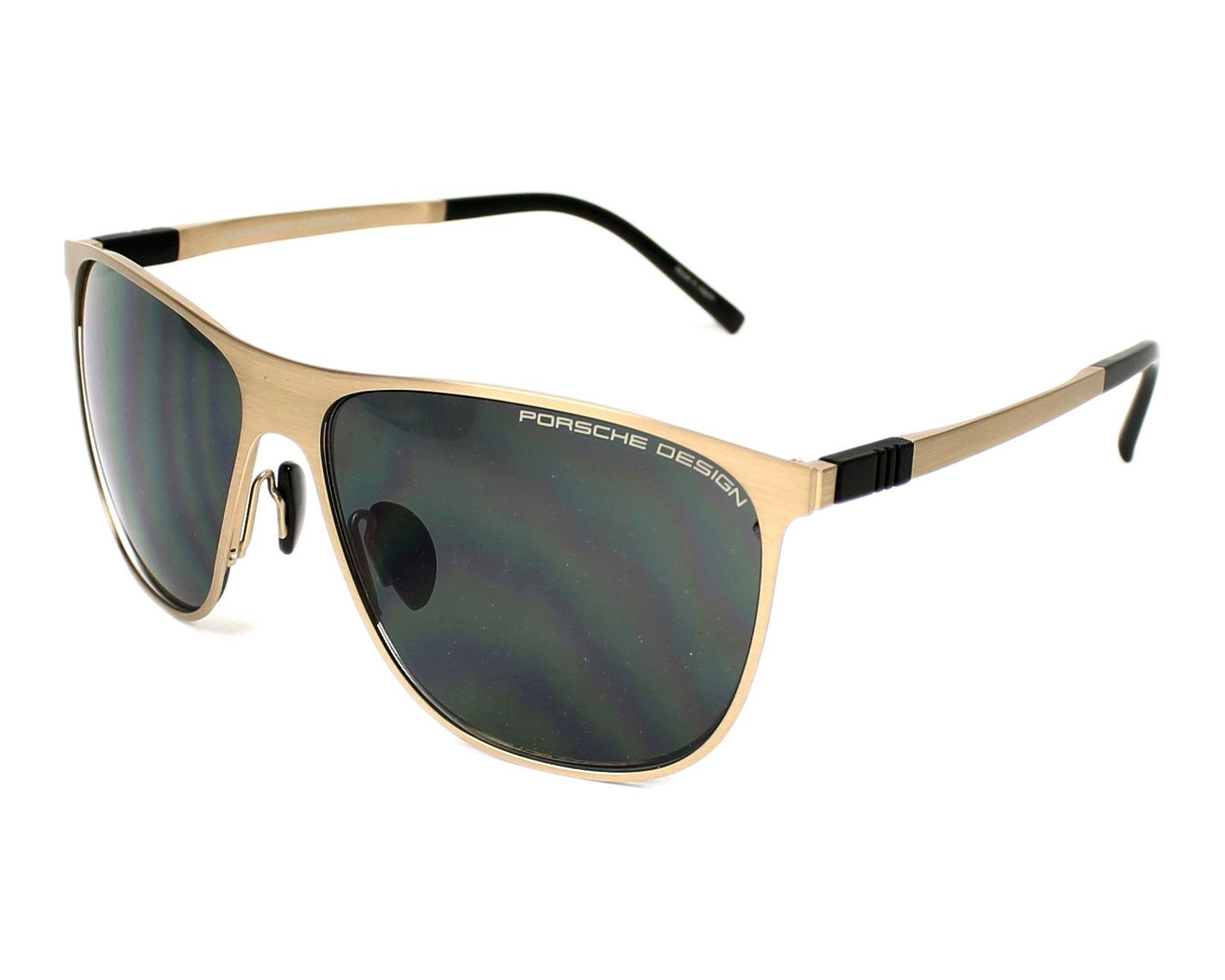 lunettes de soleil porsche design p 8609 d or avec des verres gris pour hommes. Black Bedroom Furniture Sets. Home Design Ideas