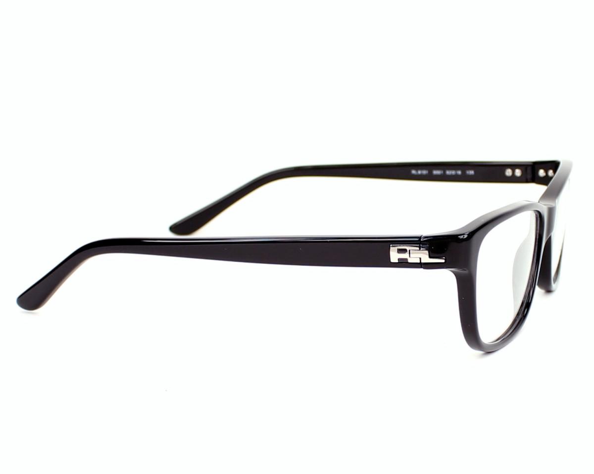 f225e83c5e638f Lunettes de vue Ralph Lauren RL-6101 5001 52-16 Noir vue de côté