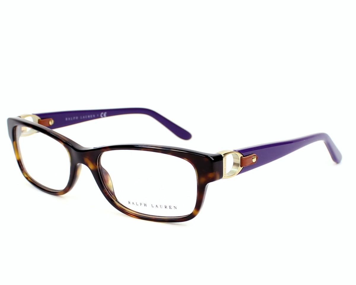 lunettes de vue ralph lauren rl 6106 q 5003 havane monture femmes. Black Bedroom Furniture Sets. Home Design Ideas